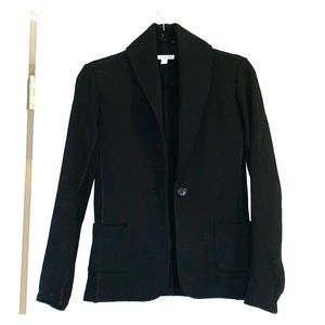 Standard James Perse Size 2 Cotton Black Blazer